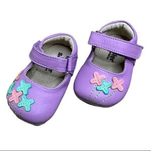 Smaller by See Kai Run Lavender Baby Mary Janes